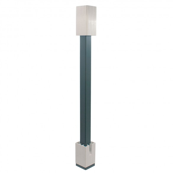 """Blu-Mount Angle Wizard 36"""" Heavy Duty For 4"""" Post w/ PVC Top Leveling Guide"""