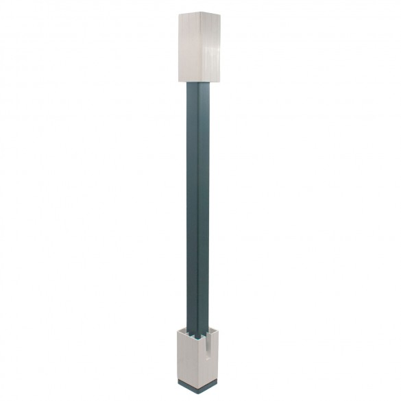 """Blu-Mount Angle Wizard 42"""" Heavy Duty For 4"""" Post w/ PVC Top Leveling Guide"""