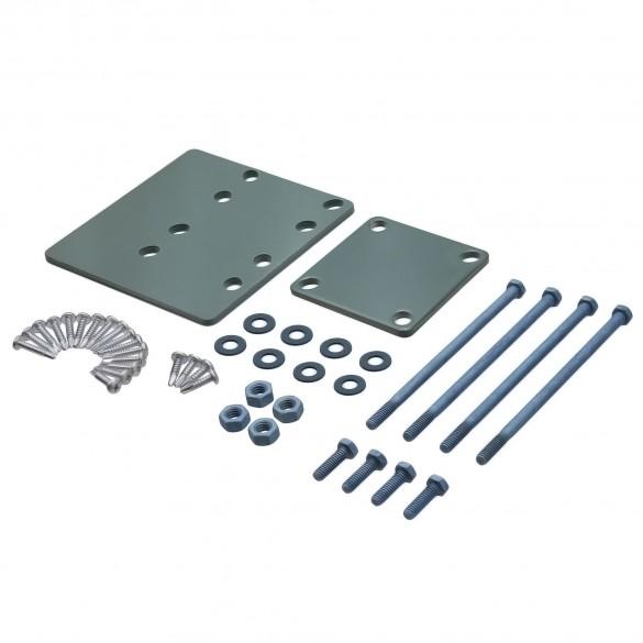 Blu-Mount Post Mount Hardware for Wood (Heavy Duty) - LMT 1368-HD