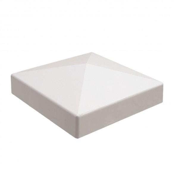 "LMT C-5R9W 5"" External Pyramid Post Cap - White"