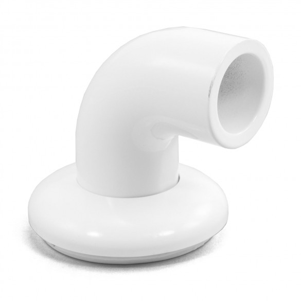 LMT 6001-WHITE ADA Wall Return and Cover Plate Kit - White