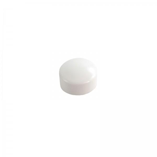 LMT 1132-500-WHITE Screw Snap Caps - White