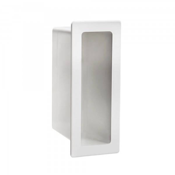 "LMT 1143-WHITE 2"" x 7"" x 5"" Vinyl Gate Socket - White"