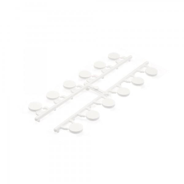 LMT 1220-WHITE Hole Plug (Pack of 12) - White