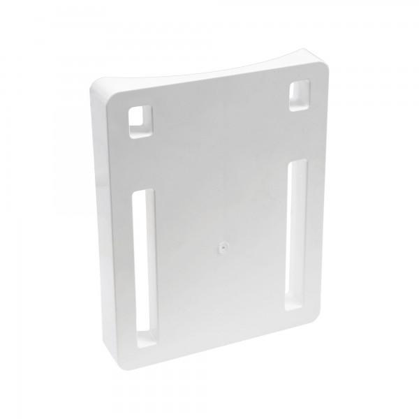 """LMT 1305A-WHITE 8"""" Column Adapter for Straight Bracket - White"""