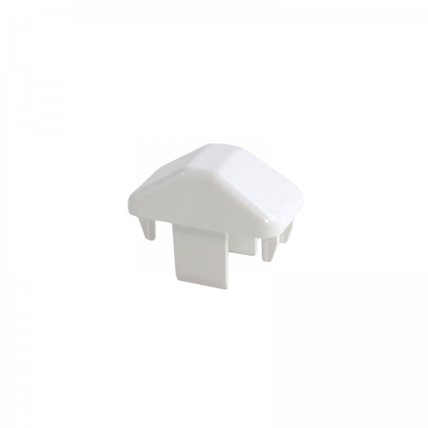 "LMT 1467W 7/8"" x 1 1/2"" Dog Ear Picket Cap - White"