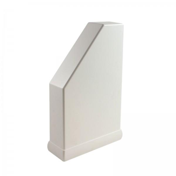 "2"" x 6"" Classic Pergola End Cap - External - LMT 1701W - White"