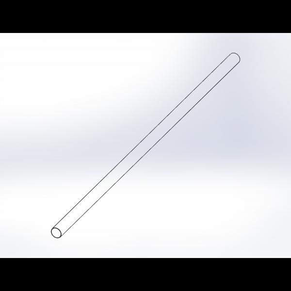 """3.25"""" x 108"""" Metal Post Core (5x5) - LMT 3250-CORE"""