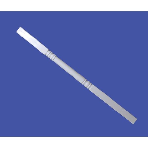 """LMT 3290-NSPP-WHITE 4"""" Sq x 108"""" Porch Post Kit (Non Structural) - White"""