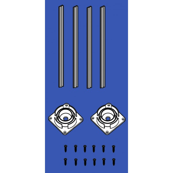 "4"" Sq Porch Post Structural Hardware Kit - LMT 3290-POSTHARDWARE"