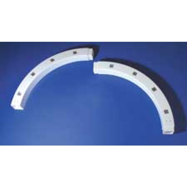 """4"""" Sq 180 Degree Custom Routed Arch - LMT 5101"""
