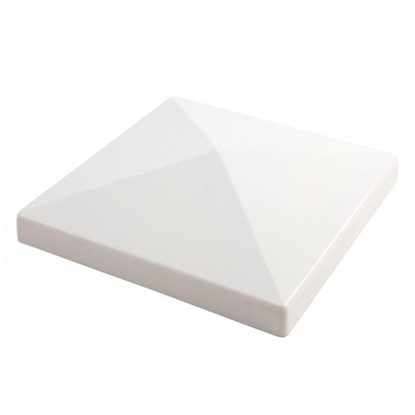 """LMT 1006W 5"""" Flat Post Cap - White"""