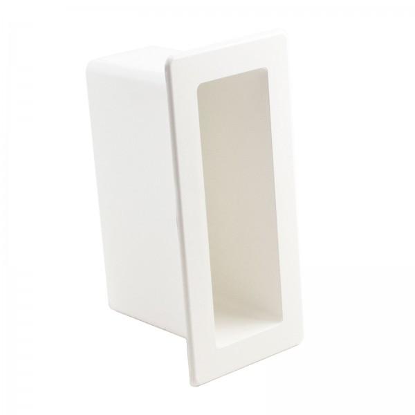 "LMT 1129-WHITE 2"" x 6"" x 4"" Gate Socket - White"