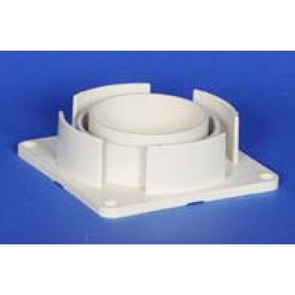"""5"""" Sq Porch Post Mounting Plate - LMT 1449"""