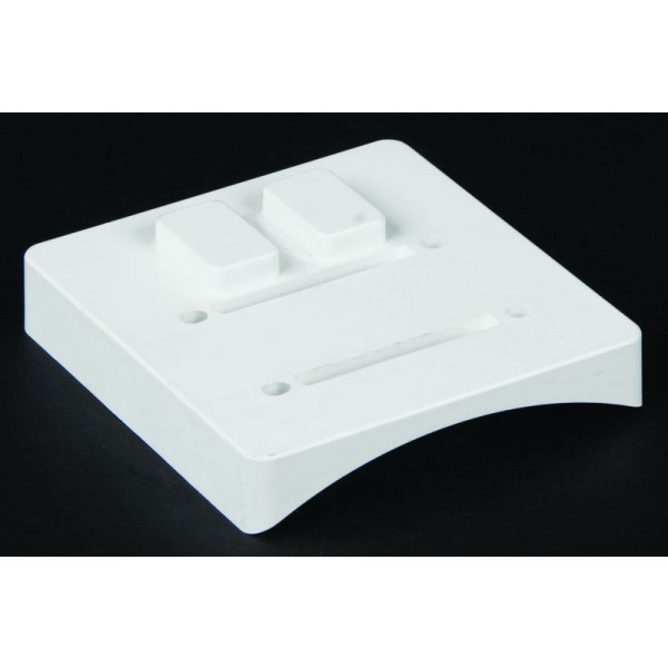 LMT 1530-WHITE Column Adapter System (3 Piece) - White