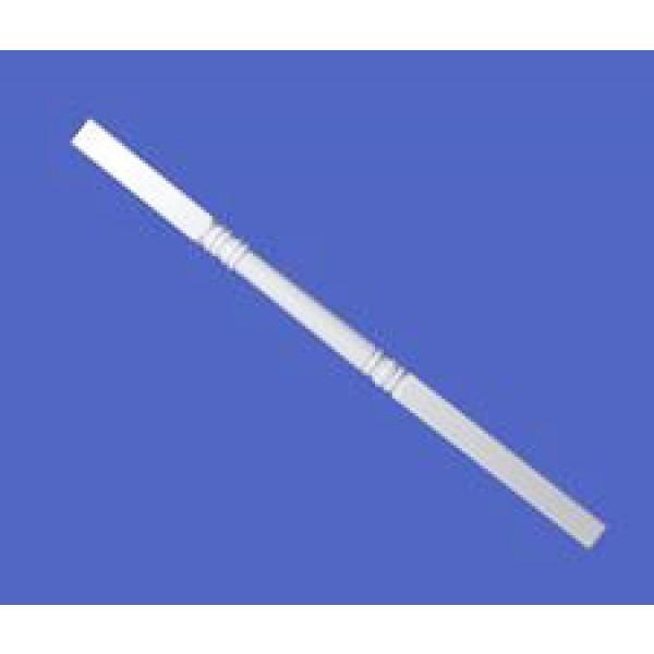 """LMT 3250-NSPP-WHITE 5"""" Sq x 108"""" Porch Post Kit (Non Structural) - White"""