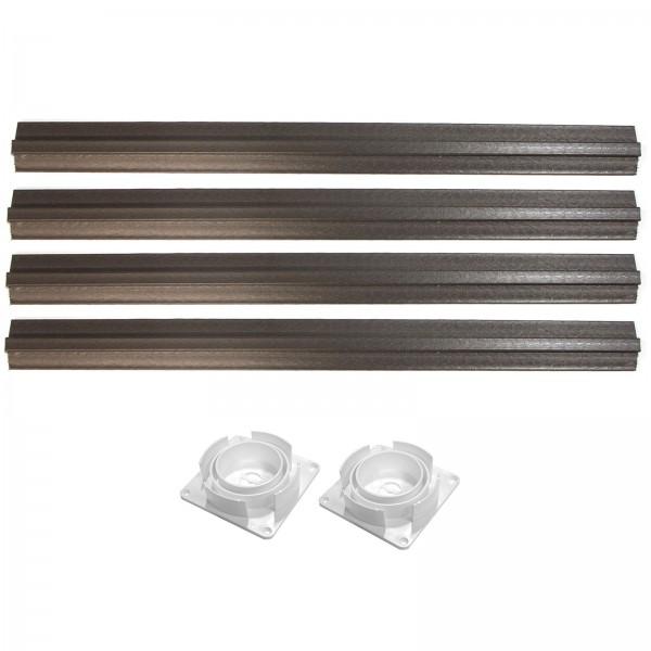 "5"" Sq Porch Post Structural Hardware Kit - LMT 3250-POSTHARDWARE"