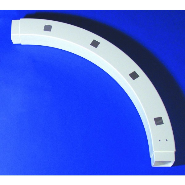 """4"""" Sq 90 Degree Custom Routed Arch - LMT 5100"""