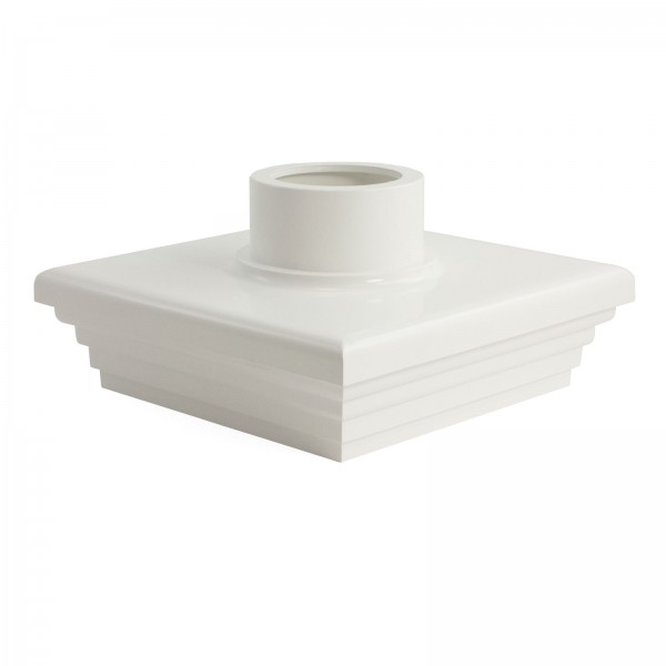 """LMT A-55LCW 5"""" Adapter Cap - White"""