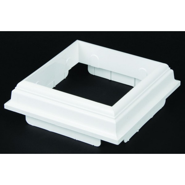 """6.5"""" to 5"""" Base Molding Top Post Trim"""