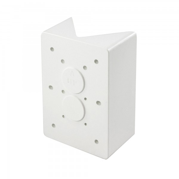 LMT M-45PA-WHITE 45 Degree Eclipse Bracket Post Adapter - White