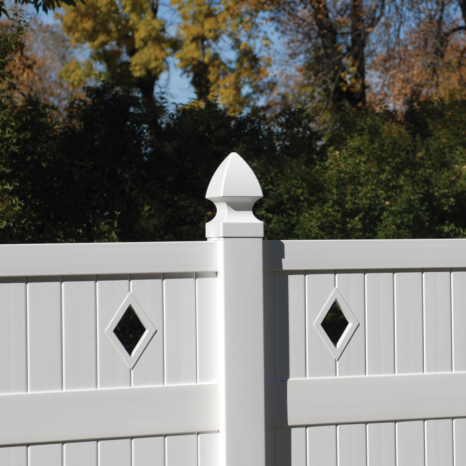 Bufftech Gothic Vinyl Post Cap 4 X Fence Ings