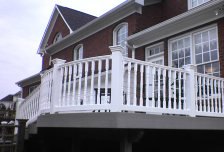 Vinyl Deck and Rail Spindles