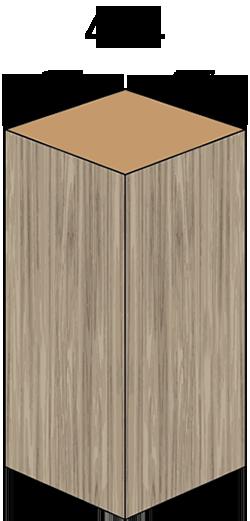 4 x 4 Wooden Post Nominal Measurements